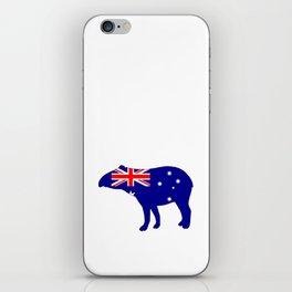 Australian Flag - Tapir iPhone Skin