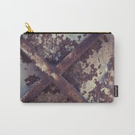 Rusty Metal Cross Carry-All Pouch