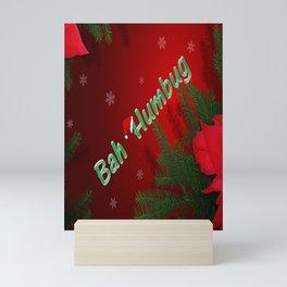 Bah Humbug Mini Art Print