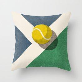 BALLS / Tennis (Hard Court) Throw Pillow