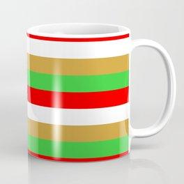 Tajikistan flag stripes Coffee Mug