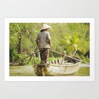 vietnam Art Prints featuring Vietnam by Mattea Weihe