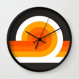Flame Looper Wall Clock