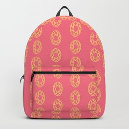Happy Oval Gems Backpack