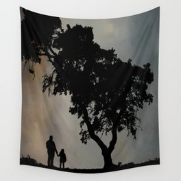 Grandpa Tell Me About The Good Old Days Wall Tapestry