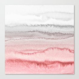 WITHIN THE TIDES - ROSE TO GREY Canvas Print