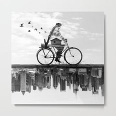 In Between Metal Print