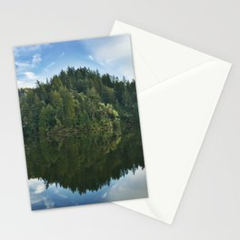 Reflection - Lake Alpine Stationery Cards