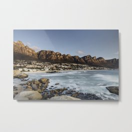 Sunset in Camps Bay, Cape Town Metal Print