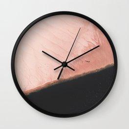 Pink Sands Wall Clock