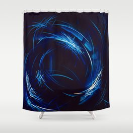 Riding The Stars To Daylight Shower Curtain