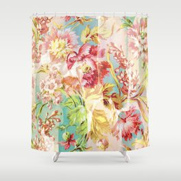 hide and seek floral Shower Curtain