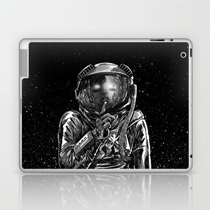 The Secrets of Space Laptop & iPad Skin
