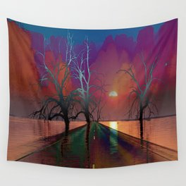 The Contention of Horus and Seth Wall Tapestry