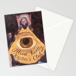 Illumi-Knotty Knitter's Club Stationery Cards
