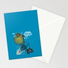 pufferfish baloon Stationery Cards