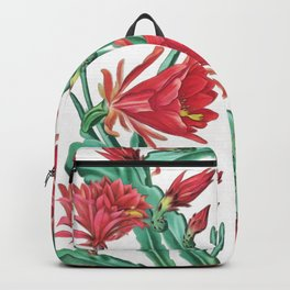 Blooming cactus I Backpack