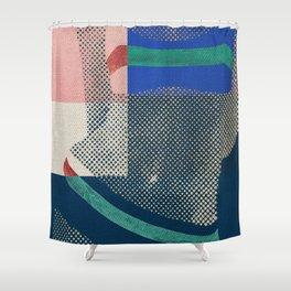 Gerald Laing's Girls 3 Shower Curtain