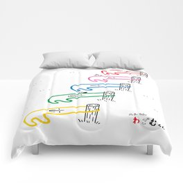 Cute! Original character of the rubber band Comforters