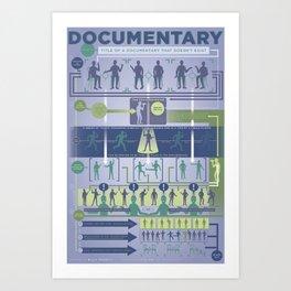 Improv Forms: The Documentary Art Print