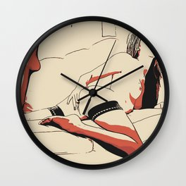 NSFW - Playing Dirty 2 Wall Clock
