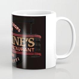 Carmine's Restaurant Neon Sign, Chicago. Coffee Mug