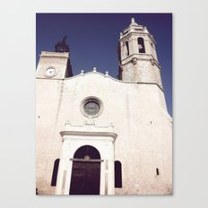 Spanish church Canvas Print
