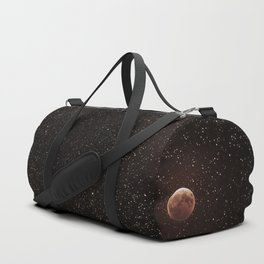 No matter where you are, you will always be looking at the same moon as I am Duffle Bag