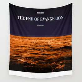 Movie Poster: The End of Evangelion Wall Tapestry