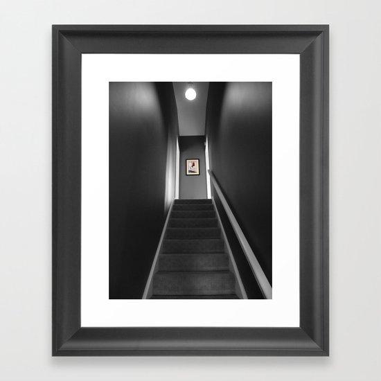 The Hall Framed Art Print