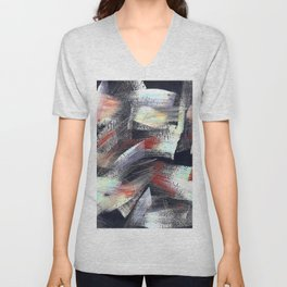 Abs multicolor 4567 Unisex V-Neck