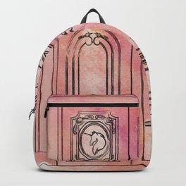 Pink Unicorn Doors Backpack