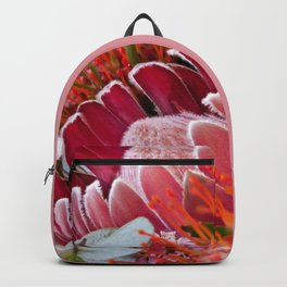 Lovely Feather Protea Backpack