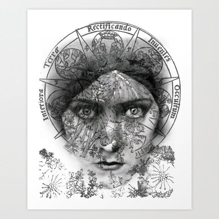 The Eyes of Alchemy Art Print