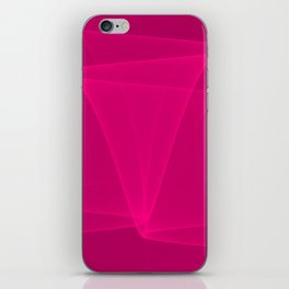 Abstract #4 (Fuchsia/DarkMagenta) iPhone Skin