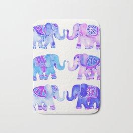 Elephant Collection – Indigo Palette Bath Mat