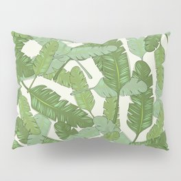 Banana Leaf Print Pillow Sham