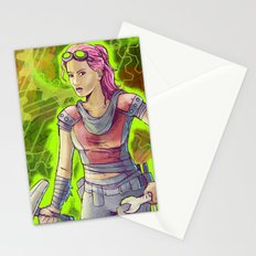Steampunk Goddess Stationery Cards