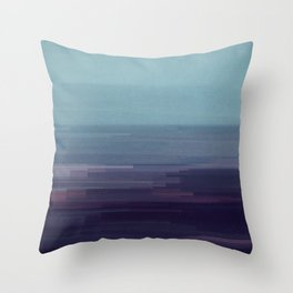 Glitched v.9 Throw Pillow