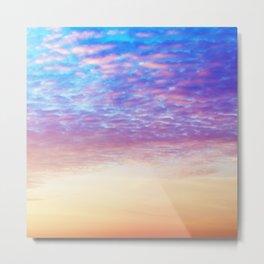 Whimsical Daydream Sunset Sky Metal Print