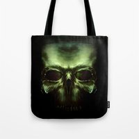 aliens Tote Bags featuring Aliens by Jav S.