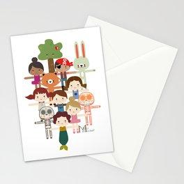 Mio Múcaro Creatures Stationery Cards