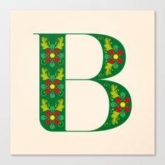 B - Amarilis Canvas Print