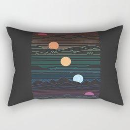 Many Lands Under One Sun Rectangular Pillow