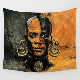 Man AFRICAN Wall Tapestry