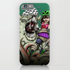 Roller Derby Girl Fighting Monster Slim Case iPhone 6s
