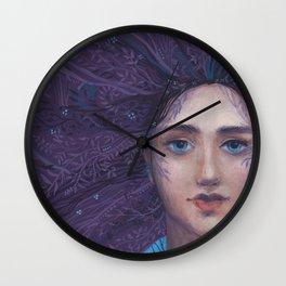 Primavera Fantasy Art Spring Goddess Wall Clock