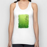 lizard Tank Tops featuring lizard by Antracit