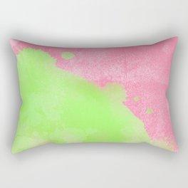 Pinkgreen SplashUp Rectangular Pillow