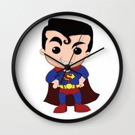 Chibi Hero Wall Clock
